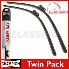 Champion Flat Front Wiper Blades for NISSAN 370Z + NAVARA D40 + PATHFINDER 04 on