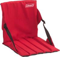 Coleman Stadium Seat Red