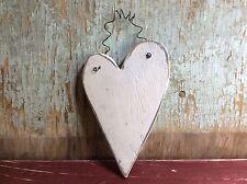 Primitive Wooden Heart, Rustic Home Decor