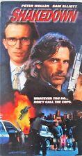 Shakedown (VHS, 1998, GoodTimes Home Video, EP Mode) Peter Weller, Sam Elliott