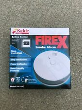 Kiddie FireX Hardwire Smoke Detector with 9V Battery Backup Fire Alarm   New