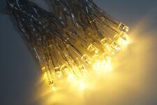 Lichterkette 20 LED Warmweiß Batterie Timerfunktion für Außen geeignet