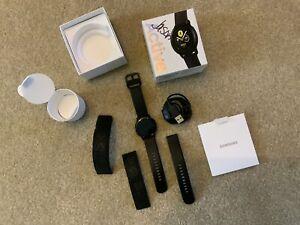 Samsung Galaxy Watch Active 40mm Black SM-R500NZKAXAR New Opened Box Never Worn