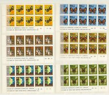 NEW ZEALAND 1970 PICTORIAL DEFINITIVE TO $2 PLATE BLOCKS P1/20 CAT NZ$676