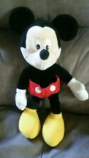 """Vintage 17"""" Applause Mickey Mouse Plush Stuffed Toy Unlimited Walt Disney #8536"""