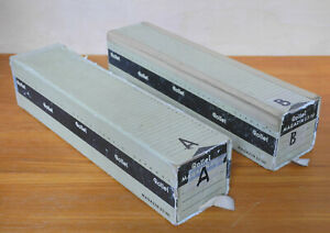 Two Rollei  Slide Magazines capacity 50