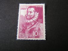 *ANGOLA, SCOTT # 313, 10a. VALUE ROSE LILAC ANNIV ANGOLA TO PORTUGAL ISSUE MNG