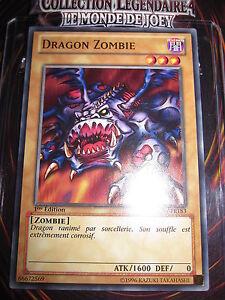 YU-GI-OH! COM DRAGON ZOMBIE LCJW-FR183 NEUVE MINT LE MONDE DE JOEY