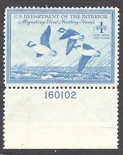 RW15 XF MNH OG-GEM 1948 DUCK STAMP PLATE# SINGLE (REM #RW15-919)