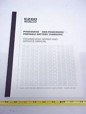 EZ-GO SERVICE MANUAL PORTABLE 36V BATTERY CHARGER 95-96  SKU-04162007A
