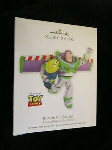 2012 Hallmark Buzz to the Rescue Disney Toy Story Ornament Lightyear Alien
