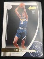2019-20 Bol Bol Rookie Card Panini Absolute Memorabilia Denver Nuggets #2 NM