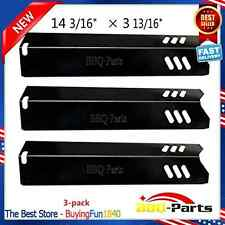Heat Bbq Porcelain Steel Plate Ppa581 Parts 3Pack Shield Tent Gas Grill Uniflame