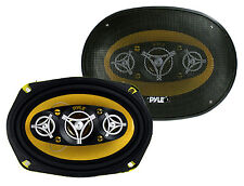 """2) NEW PYLE PLG69.8 6x9"""" 8-WAY 500w Car Audio Stereo Coaxial Speakers PLG698"""