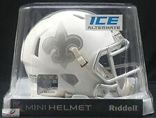 NEW ORLEANS SAINTS (ICE ALTERNATE) Riddell Speed Mini Helmet