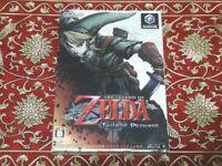 Nintendo GameCube The Legend of Zelda Twilight Princess Game Software Japan