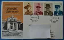 1974 GB Stamps First Day Cover - Birth Centenary of Sir Winston Churchill