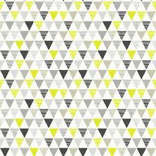 Jester Negro Gris y verde triángulos Papel Pintado Por Arthouse Imagine Niños