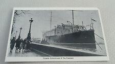 London Sea Transportation Postcard