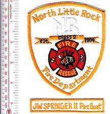 Fire Boat Arkansas North Little Rock Fire Department JW Springer II Fireboat Fir