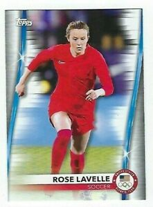 2020 2021 TEAM USA OLYMPIC & PARALYMPIC BASE #11 ROSE LAVELLE 11 SOCCER