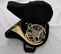 Professional JINBAO Double French Horn Gold Lacquer Finish F/Bb 4 Key with Case