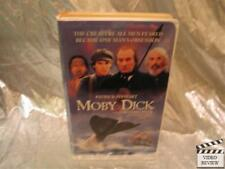 Moby Dick VHS Patrick Stewart Gregory Peck Large Case; VG