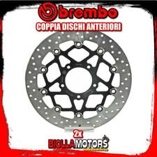 2-78B40893 COPPIA DISCHI FRENO ANTERIORE BREMBO MV AGUSTA F3 SERIE ORO 2013- 800
