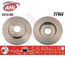 TRW DF4180 x2 Jeu de 2 disques de frein MERCEDES BENZ C KLASSE W203 S203 SLK