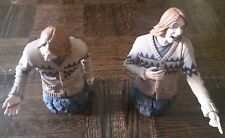 Harry Potter Fred and George Weasley Collectible Busts Gentle Giant COA #1208