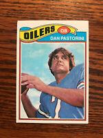 1977 Topps #149 Dan Pastorini Football Card Houston Oilers Raw