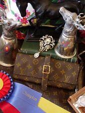RARE Vintage LOUIS VUITTON SAKS Monogram Travel Jewelry Case Keeper Roll Keepall