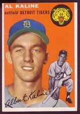 1954 TOPPS AL KALINE CARD NO:201 NEAR MINT CONDITION