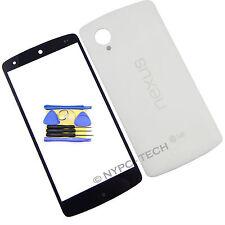 Glass Screen & Battery Back Cover NFC Vibrator For LG Nexus 5 D820 D821 + Tools