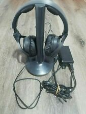 Sony TMR-RF995R Wireless Headphones RF Stereo Transmitter Set with AC Charger