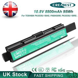 Battery For Toshiba A300D L300D L305D L450D L455D L500D L505D L550D L555D U300