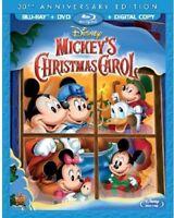 Mickey's Christmas Carol 30th Anniversary Edition [New Blu-ray] With DVD, Anni