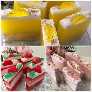 Gorgeous Handmade Soap Slice - Vegan Friendly - not tested on animals