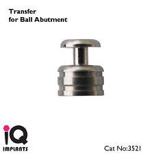2 Transfers for Ball Abutments Dental Implant Lab Instruments Ptosthetics Tools