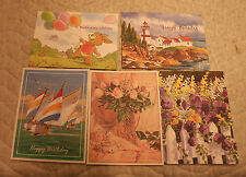 DISABLED PARALYZED AMERICAN VETERANS BIRTHDAY CARDS & ENVELOPES LOT OF 10 C