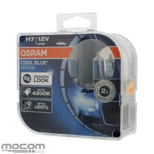 Original Osram Cool Blue Intense Lámparas Set para H7 12V 55W PX26d Xenon Look