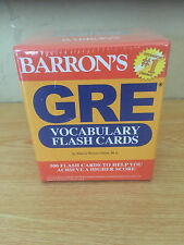 GRE Vocabulary Flash Cards by Sharon Weiner Green M.A. (2012, Cards,Flash Cards)