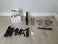 Nintendo Wii Bundle with 10 games Inc Wii Sports