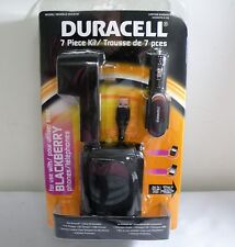 Duracell 7-piece Car Ac Usb Charger Kit for Blackberry and Android Phones
