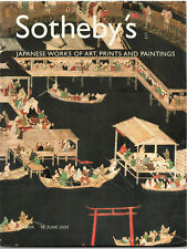 SOTHEBY'S / JAPANESE WORKS OF ART PRINTS AND PAINTINGS  / LONDON 19 JUNE 2001