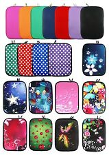 "Neoprene Sleeve Case Cover for various models for 9.7 - 10.1"" Tablets"