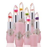 Flower Lipstick Temperature Change Color Lipstick Balm Moisturizer Long Lasting