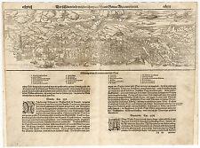 Antique Print-GENUA-ITALY-LIGURIA-Munster-1598