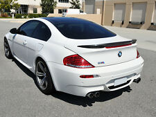 Carbon BMW E63 Trunk Deck Lip Spoiler V-Type Coupe 6 Series 2004-2008