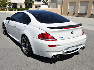 One Carbon BMW E63 Trunk Deck Lip Spoiler V-Type Coupe 6 Series 2004-2008